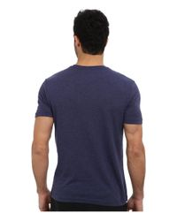 G-Star RAW | Blue Base Heather R S/s Tee 2-pack for Men | Lyst