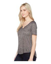 Project Social T - Gray Suzie Shirttail Tee - Lyst