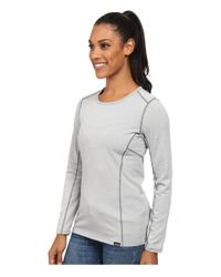 Patagonia - Gray Cap Mid Weight Crew - Lyst