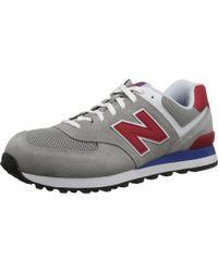 New Balance - Gray 574 - Core Plus for Men - Lyst