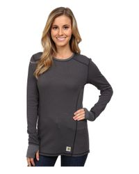 Carhartt - Black Base Force® Cold Weather Crew Neck Top - Lyst