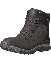 The North Face - Black Chilkat Leather Insulated for Men - Lyst
