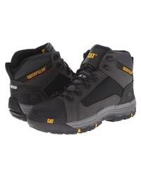 Caterpillar | Black Convex Mid Steel Toe for Men | Lyst