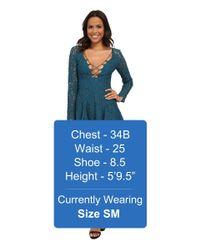 StyleStalker - Blue Love Bomb Dress - Lyst