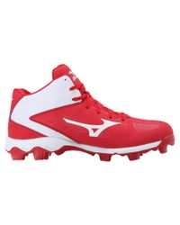 Mizuno - Red 9-spike® Advanced Franchise 8 Mid for Men - Lyst