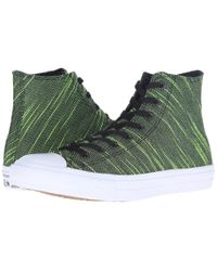 Converse - Green Chuck Taylor® All Star® Ii Knit Hi for Men - Lyst