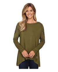 Double D Ranchwear - Green La Raspa Top - Lyst
