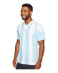 Adidas Originals - Blue Striped 15 Jersey for Men - Lyst