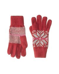 Bula | Red Victoria Gloves | Lyst