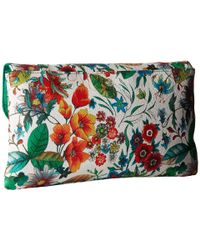Jessica Mcclintock - Green Arielle Tropical Floral Envelope Clutch - Lyst