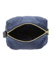 Marc Jacobs - Blue Easy Matelasse Large Cosmetic - Lyst