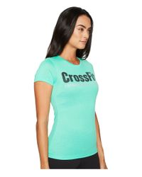 Reebok | Green Crossfit® Forging Elite Fitness Speedwick Tee | Lyst