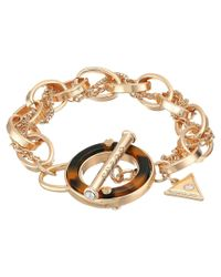 Guess | Metallic Tortoise Toggle Bracelet | Lyst