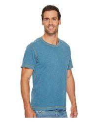 Agave - Blue Skeg Short Sleeve Slub Jersey T-shirt for Men - Lyst