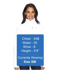 The North Face - White Apex Bionic Jacket - Lyst