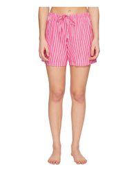 Lauren by Ralph Lauren - Pink Cotton Rayon Lawn Boxer Pj Set - Lyst