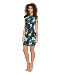 Adelyn Rae - Black Jasmine Ruffle Sheath Dress - Lyst