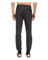 Matiere - Black Enzo Tech Cinch-bottom Trousers for Men - Lyst