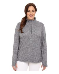 Nike - Gray Dry Element 1/4 Zip Running Top (size 1x-3x) - Lyst