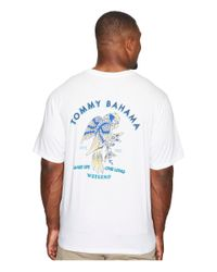 Tommy Bahama - White Big & Tall Birds Eye View Tee for Men - Lyst