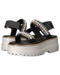 Suecomma Bonnie - Black Jewel Detailed High Platform - Lyst