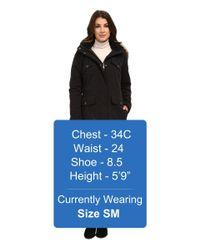 DKNY - Black Anorak W/ Chest Pockets Details 82377-y5 - Lyst