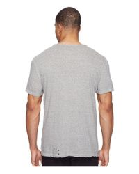 AG Jeans - Gray Ramsey Short Sleeve Crew for Men - Lyst