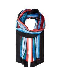 Calvin Klein - Red Multicolor Shadow Stripe - Lyst