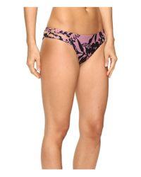 O'neill Sportswear - Pink Luna Loop Side Bikini Bottom - Lyst