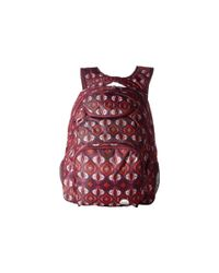 Roxy - Red Shadow Swell Backpack - Lyst