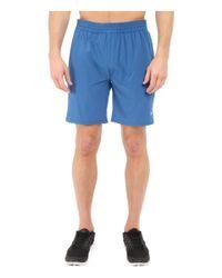 Travis Mathew - Blue Red Carl Shorts for Men - Lyst