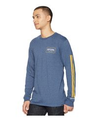 Rip Curl - Blue Bowie Premium Long Sleeve Tee for Men - Lyst