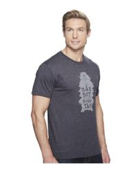 Marmot - Gray Wooly Tee Short Sleeve for Men - Lyst