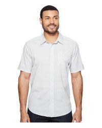 Mountain Hardwear - White Air Tech Ac Stripe Short Sleeve Shirt for Men - Lyst