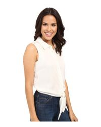 Catherine Malandrino - White Colby Blouse - Lyst