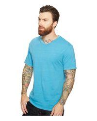 Threads For Thought - Blue Standard V-neck Tee for Men - Lyst