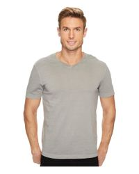 Mod-o-doc - Gray Del Mar Short Sleeve V-neck Tee for Men - Lyst