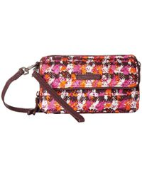 Vera Bradley - Red Rfid All-in-one Crossbody - Lyst