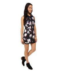 RVCA - Black Easy Runner Dress - Lyst