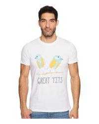 DIESEL - White T-joe-qn T-shirt for Men - Lyst