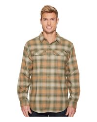 b26c2c614ae Columbia Silver Ridge Flannel Long Sleeve Shirt in Green for Men - Lyst