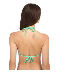 Tommy Bahama - Green Pearl Triangle Cup Bra Top - Lyst