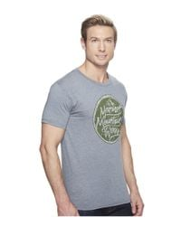 Marmot - Gray Turf Tee Short Sleeve for Men - Lyst