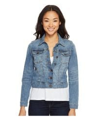 Kut From The Kloth - Blue Petite Helena Jacket In Empathetic - Lyst