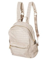 Urban Originals - Natural 'runway' Backpack - Lyst