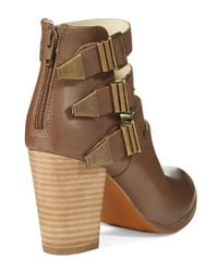 Seychelles | Brown Haywire Strapped Booties | Lyst