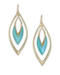 Alexis Bittar | Coral Deco Lucite Orbit Drop Earrings/blue | Lyst