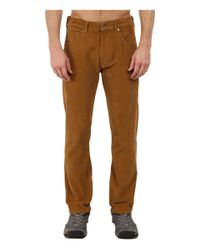 Patagonia | Brown Straight Fit Cords - Short for Men | Lyst