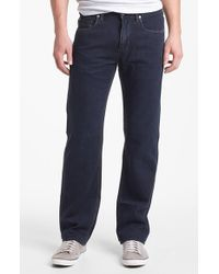 Tommy Bahama | Black Relax 'coastal Island' Standard Fit Five Pocket Straight Leg Jeans for Men | Lyst