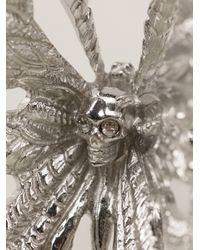 Alexander McQueen   Metallic Butterfly Ring   Lyst